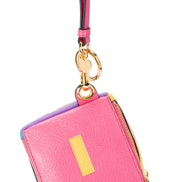 Miu Miu Logo Cube Keyring close up